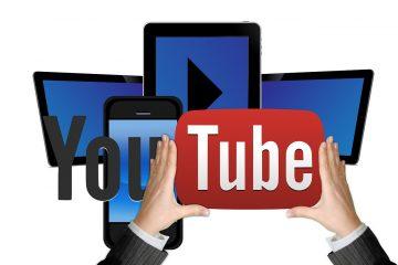 קישור ערוץ היוטיוב לעמוד העסקי בפייסבוק